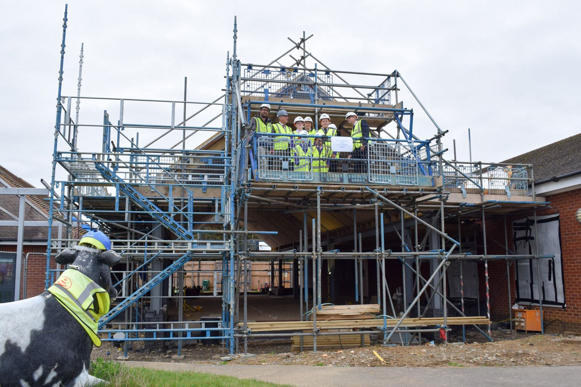 Kimbolton Prep School Topping Out